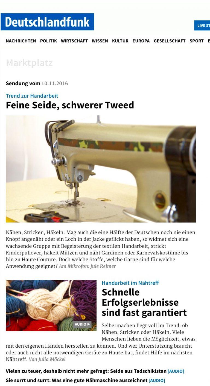 Quelle: Website Deutschlandfunk